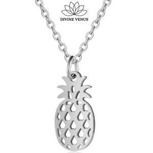 Pineapple 🍍 Necklace | Stainless Steel